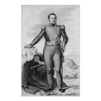 Etienne Maurice Gerard Poster