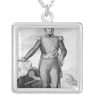 Etienne Maurice Gerard Silver Plated Necklace
