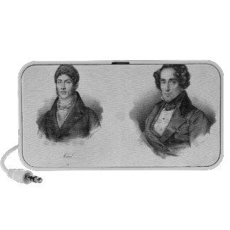 Etienne Mehul  and Giacomo Meyerbeer Laptop Speaker
