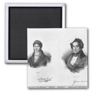 Etienne Mehul  and Giacomo Meyerbeer Magnet