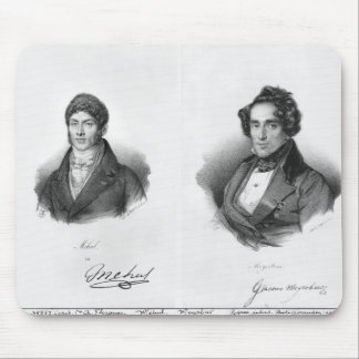 Etienne Mehul  and Giacomo Meyerbeer Mouse Pad