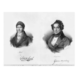 Etienne Mehul and Giacomo Meyerbeer Post Cards