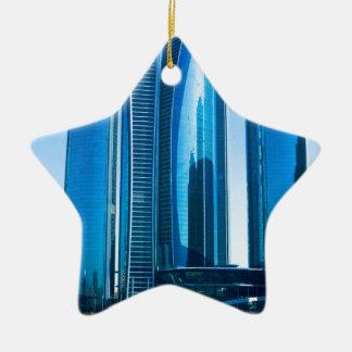 Etihad Towers Ceramic Ornament