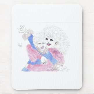 Etiole with his son Phozeen Mouse Pad