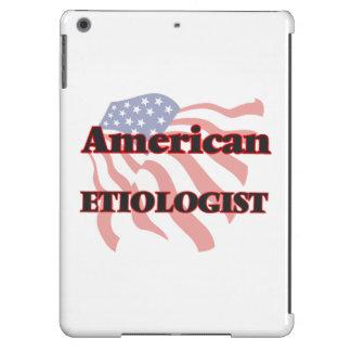 Etiologist americano funda para iPad air