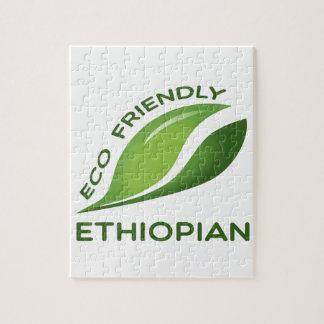 Etíope amistoso de Eco Puzzle