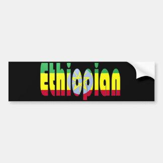 Etíope Pegatina Para Auto