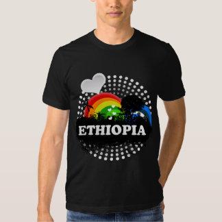 Etiopía con sabor a fruta linda camisas