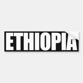 Etiopía Pegatina Para Auto
