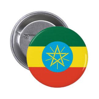 Etiopía Pin Redondo De 2 Pulgadas
