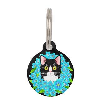 Etiqueta adaptable de TuxedoCat - accesorio dulce Identificador Para Mascotas