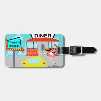 Etiqueta adaptable del equipaje del comensal de etiquetas para maletas
