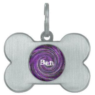 etiqueta adaptable del mascota - Ben Placa De Nombre De Mascota