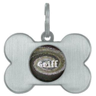 etiqueta adaptable del mascota - Griff Placa Mascota