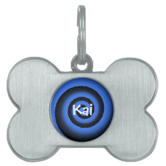 etiqueta adaptable del mascota - Kai Placas Mascota