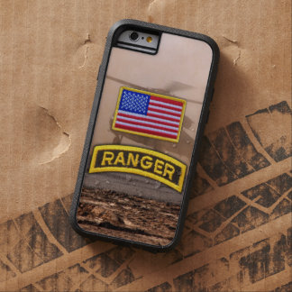 Etiqueta aerotransportada de los veterinarios de funda tough xtreme iPhone 6