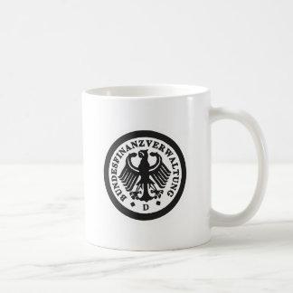 Etiqueta alemana taza