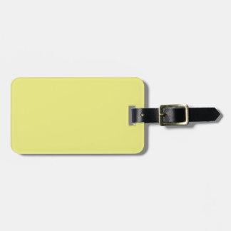 Etiqueta amarilla negra y en colores pastel del eq etiquetas bolsas