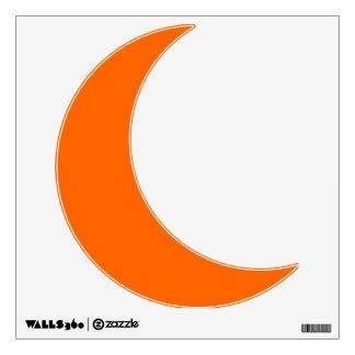 Etiqueta anaranjada de la pared de Halloween de la Vinilo Adhesivo