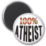 Etiqueta atea iman de frigorífico