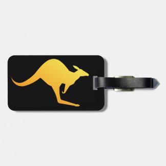 Etiqueta australiana del equipaje de la imagen del