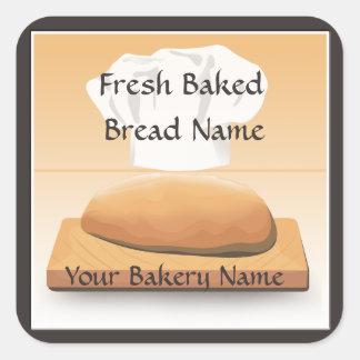 Etiqueta autoadhesiva cocida panadería del pan