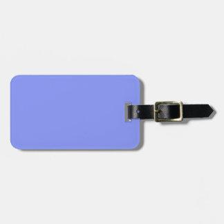 Etiqueta azul del equipaje del Dos-Tono Etiquetas Para Maletas