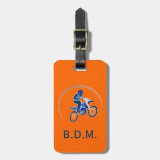 Etiqueta Biking del equipaje del vector del Etiquetas Bolsas