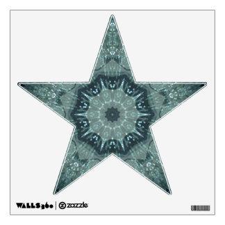 Etiqueta brillante de la pared de la estrella vinilo adhesivo