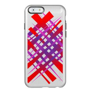 Etiqueta caótica del hachís funda para iPhone 6 plus incipio feather shine