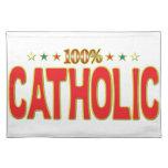 Etiqueta católica de la estrella