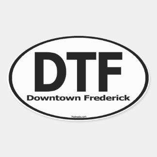 Etiqueta céntrica de Frederick