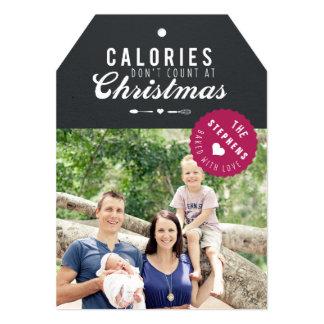 Etiqueta cocida del regalo de la tarjeta de la anuncio personalizado