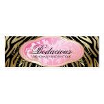 Etiqueta colgante Bodacious del negro del boutique Plantillas De Tarjeta De Negocio