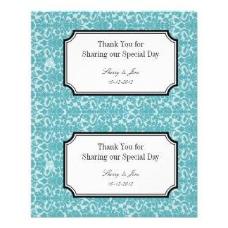 Etiqueta colgante diy del bolso del regalo de boda tarjeta publicitaria