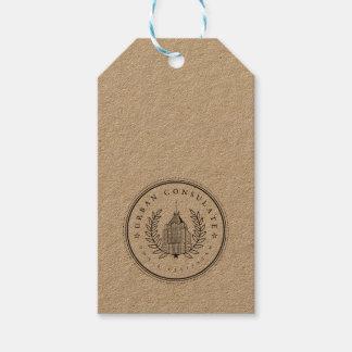 Etiqueta colgante urbana del consulado etiquetas para regalos