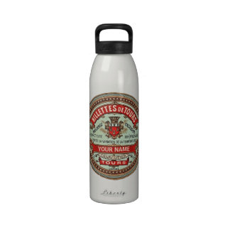 Etiqueta colorida personalizada del boticario del  botella de agua