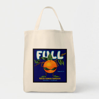 Etiqueta completa de los naranjas de la marca bolsa