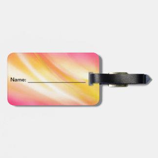 etiqueta conocida colorida etiquetas maleta