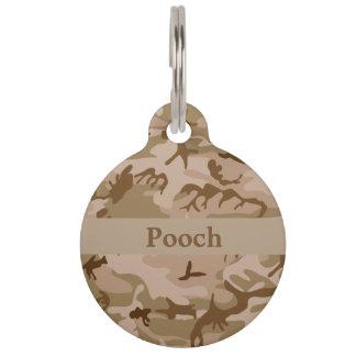 Etiqueta conocida de encargo del mascota placas de mascota