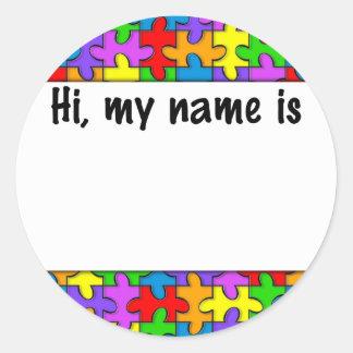 Etiqueta conocida del autismo