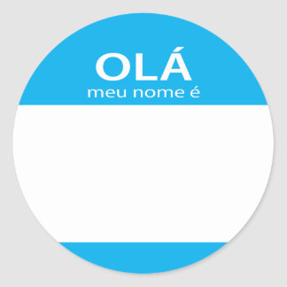 Etiqueta conocida del portugués de Meu Nome E del