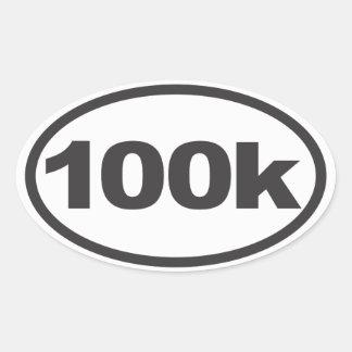 etiqueta corriente ultra oval 100K