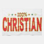 Etiqueta cristiana de la estrella