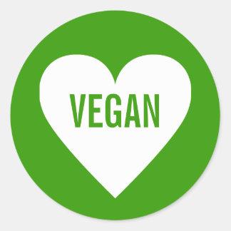 Etiqueta culinaria segura del vegano