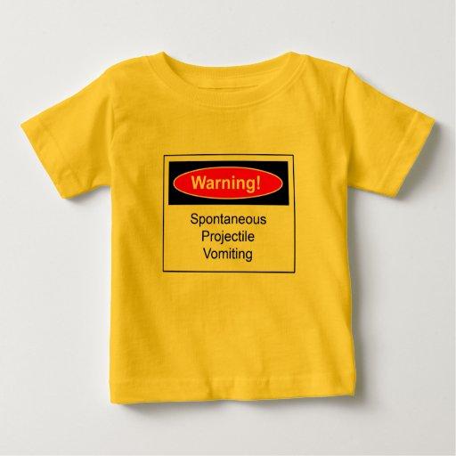 Etiqueta de advertencia tshirts