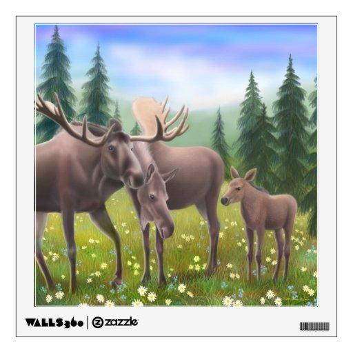 Etiqueta de Alaska de la pared de la familia de lo Vinilo Decorativo