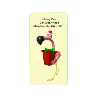 Etiqueta de Avery del navidad de Santa del Etiquetas De Dirección