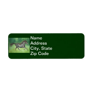Etiqueta de Avery del trotón del Fox de Missouri Etiqueta De Remite