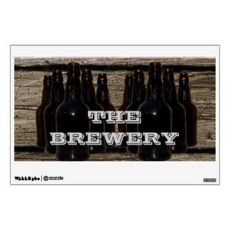 Etiqueta de cervecero personalizada de la cerveza  vinilo decorativo